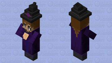 Slightly Less Ugly Witch Minecraft Mob Skin