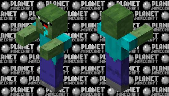 Derp Zombie 2 Minecraft Skin