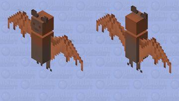 Fox Bat Minecraft Mob Skin
