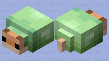 green snail Minecraft Mob Skin