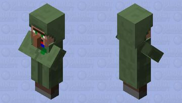 Derp villager 1 Minecraft Mob Skin