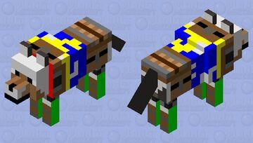 Gray's new armor in Minecraft story mode season 4 Minecraft Mob Skin