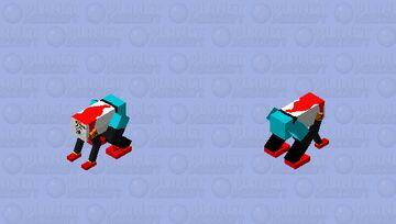 COOL DUDE PAPYRUS (cap) Minecraft Mob Skin