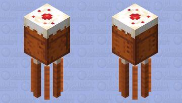 THE cake Minecraft Mob Skin