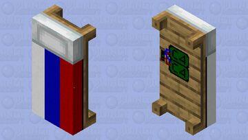 Russian bed Minecraft Mob Skin