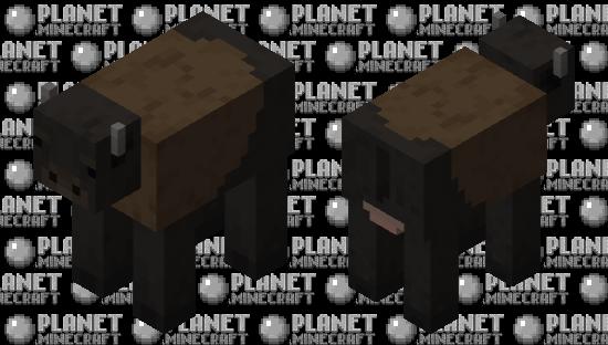 Cute Buffalo Minecraft Skin