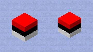Pokeball bobber Minecraft Mob Skin