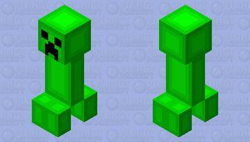 Gummy Creeper Minecraft Mob Skin