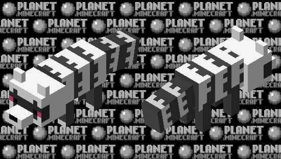 Galarian Zigzagoon Minecraft Skin