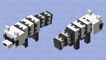Galarian Zigzagoon Minecraft Mob Skin