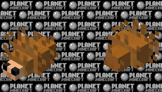 hedgehog... Minecraft Skin