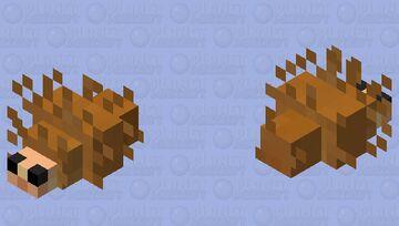 hedgehog... Minecraft Mob Skin