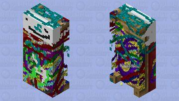 Glitched Meme Bed! Minecraft Mob Skin