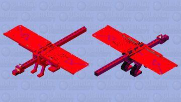 the dragon of DOOM Minecraft Mob Skin