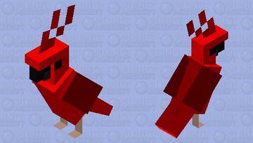 Cardinal Skin Minecraft Mob Skin