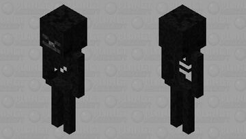 Wither Skeleton (Bow) Minecraft Mob Skin