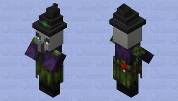 Improved Witch Minecraft Mob Skin