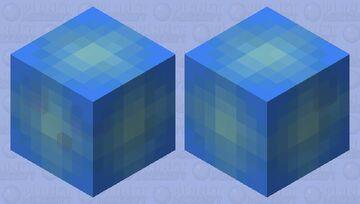 Ice Slime Minecraft Mob Skin