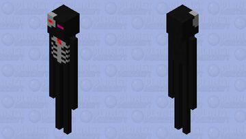 E-800 Ender man Minecraft Mob Skin