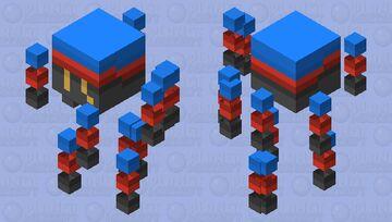 .:Pride Mobs:. Polyamorous Blaze Minecraft Mob Skin