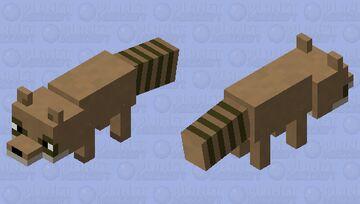 Rigby (Regular Show) Minecraft Mob Skin
