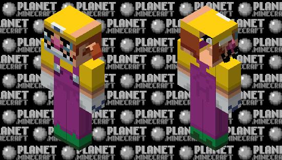 Wario I'm number one Minecraft Skin