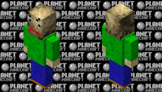 Baldi Minecraft Skin