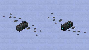 Spaceship Minecraft Mob Skin