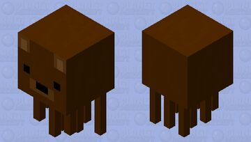 A ghast but it's a bear Minecraft Mob Skin