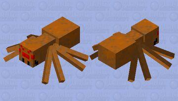 One Fresh Looking Spider Minecraft Mob Skin