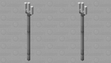 Metal Fork Minecraft Mob Skin