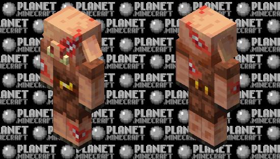 Toothy Piglin Minecraft Skin