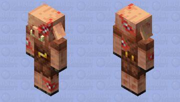 Toothy Piglin Minecraft Mob Skin