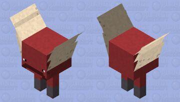 Idk I'm bored so I made a super simple strider Minecraft Mob Skin
