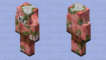 Zombified piglin remake Minecraft Mob Skin