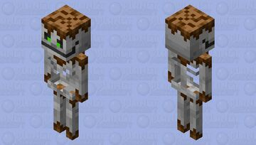The skeleton Minecraft Mob Skin