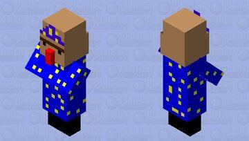Wizard villager skin Minecraft Mob Skin