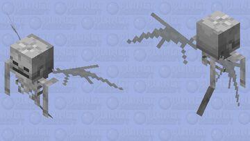 Adapted Villagers Vex Minecraft Mob Skin