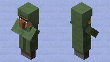 Derp villager 2 Minecraft Mob Skin