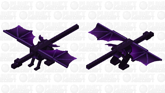 Purple Dragon Minecraft Skin
