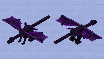 Purple Dragon Minecraft Mob Skin