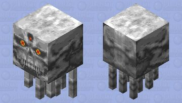 Valkryie RPG Ghast Minecraft Mob Skin