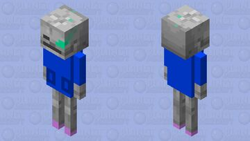 sans the skelbowton Minecraft Mob Skin