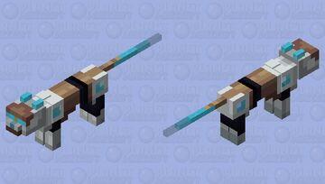 Plasma cat - style 1 Minecraft Mob Skin