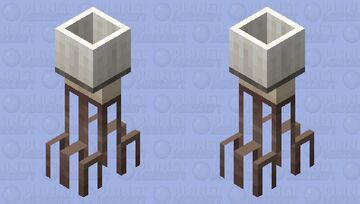 - Household Items Event Entry: Lamp on a table with lots of legs (yes) - Minecraft Mob Skin