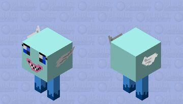 Blue Strider Minecraft Mob Skin