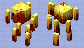 dipped in blood blaze Minecraft Mob Skin