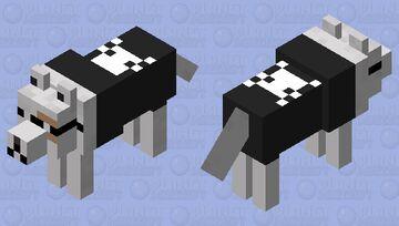Space Invader - dog (alternative version) Minecraft Mob Skin