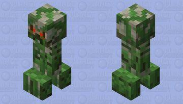 Improved Creeper Minecraft Mob Skin