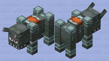even scarier ravager Minecraft Mob Skin